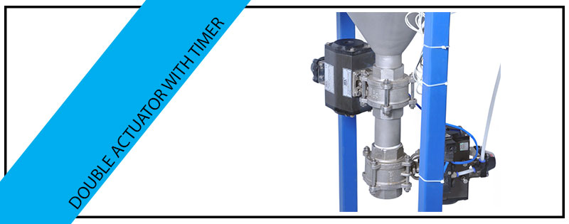 Double Actuator With Timer